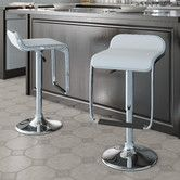 Found it at AllModern - CorLiving Adjustable Bar Stool with Cushion