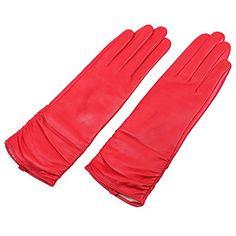 WARMEN Super Warm Echt Nappa Leder mittel Lang Winter Handschuhe Winterhandschuhe (7, Rot) WARMEN http://www.amazon.de/dp/B008KC88N6/ref=cm_sw_r_pi_dp_m1Y8vb1PY9EMS