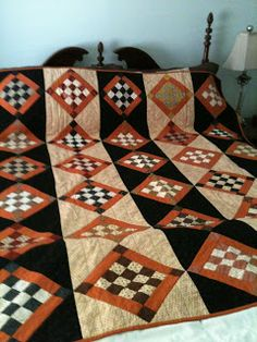 Made Down South: Trick or Treat Quilt