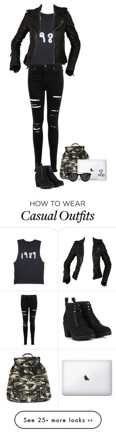 """Casual"" by grunge-life-af on Polyvore"