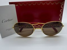 93584300b76 Genuine Rare Vintage Gianni Versace Sunglasses Mod G 99.S Col 030 New Old  Stock by VSOx on Etsy. Voir plus. Vintage Cartier Antares Sunglasses 1980 s  by ...