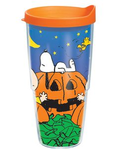 Join the Peanuts gang in search of their favorite Halloween legend on a Tervis design that is the pick of the patch!