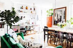 my scandinavian home: The happy Swedish home of Elsa Billgren