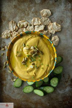 White Bean and Pumpkin Hummus