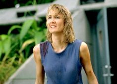 Laura Dern as Dr. Ellie Sattler in Jurassic Park.