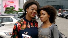 Nunnsi Ojong and Celina James at The Palms Shopping Mall in Lekki, Lagos. Photograph by Ekenyerengozi Michael Chima. All rights reserved. Travel And Tourism, Shopping Mall, Palms, Photograph, Fotografie, Shopping Center, Shopping Malls, Fotografia, Photography