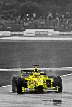 Jarno Trulli, Jordan J10 @ Silverstone  British Grand Prix | 2000