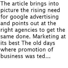 Google marketing is one of the best ways to reach to the potential customers and make the brand known.