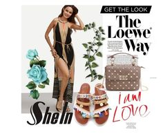 """""""shein 8"""" by aida-1999 ❤ liked on Polyvore featuring Loewe"""
