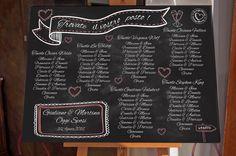 Guarda questo articolo nel mio negozio Etsy https://www.etsy.com/it/listing/225791537/tableau-lavagna-matrimonio