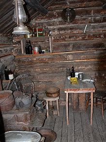 Image result for Trapper Cabin Interior One Rooms