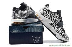 Nike KD 7 Preto Branco Zebra