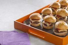 Here Kraft Recipes, Beef Recipes, Cooking Recipes, Snacks Recipes, Party Recipes, Cooking Tips, Dinner Recipes, Hamburgers, Diet