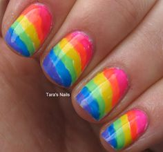 Tough as Nails, and Twice as Pretty: Rainbows of Neon