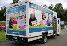 Bookmobile, Sno-Isle Libraries, Marysville, Washington.