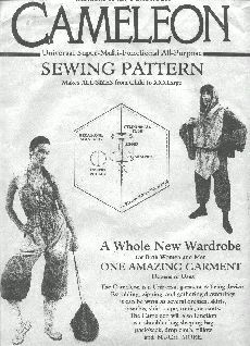 There was a sewing pattern for the Chameleon by Rock Ridgeway?