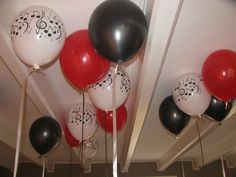 michael jackson party decorations