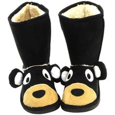 753187321d52 LazyOne Kids Toasty Toez Fleece Slippers