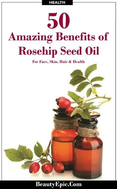 50 Benefits of Rosehip Seed Oil For Face, Skin, Hair and Health: We brought a list of 50 which would show you how important is rosehip oil in beauty regime and what are its benefits.