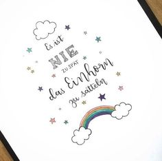 Letter Lovers fraeulein_kalt: Handlettering Say: It is never too late to saddle the unicorn. ,Letter Lovers: fraeulein_kalt as a guest, Bullet Journal Page, Bullet Journal Quotes, Coloring Book Online, Bujo Inspiration, Hand Lettering For Beginners, Valentine's Day Quotes, Pen Sets, Brush Lettering, Gel Pens