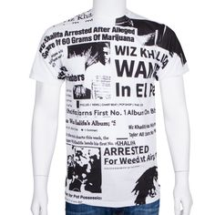 """195b1cbf24b2 Now available is the """"News Cuts"""" unisex t-shirt"""