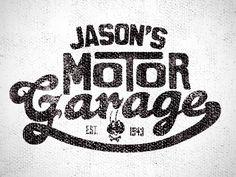 Motor Garage T-shirt design by Justin Barber