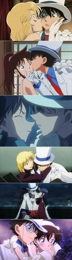 ♥@CharmingMystery♥: Kaito Kid, the womanizer~