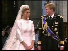 Wedding vows Prince Willem Alexander & Princess Maxima