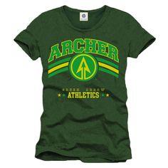 £15.99 Arrow - Superhero Athletics T-shirt