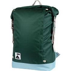 Poler - Roll Top Backpack - Dark Green