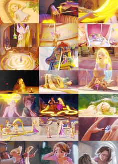Rapunzel's hair. It was the reason for her life. She is beautiful, even without it.