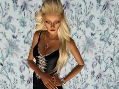 Caroline female model by Roxxyando - Sims 3 Downloads CC Caboodle