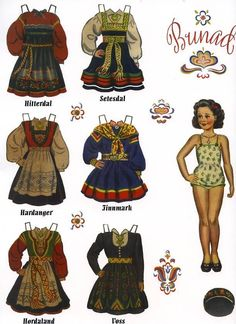 US $10.00 New in Dolls & Bears, Paper Dolls, Reproductions