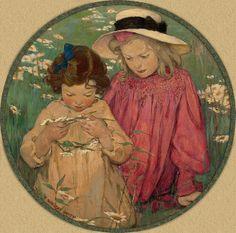 "Jessie Willcox Smith ""The Daisy Wreath"" | Flickr - Photo Sharing!"