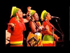 The I Threes: (Bob Marley's backup singers) Judy Mowatt, Rita Marley, Marcia Griffiths.