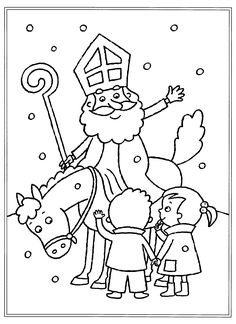 Saint Nicolas, Christmas Car, Early Christian, Catholic Saints, Nouvel An, Roman Empire, Coloring Pages, December, Drawings