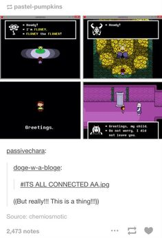I'd like to remind everyone that the fallen child is LITERALLY CHARA FREAKING CHARA *eternal screaming*<<<< *leans backwards in surprise* *falls out of chair* *falls to underground* Undertale Theories, Undertale Memes, Undertale Fanart, Undertale Comic, Undertale Costumes, Flowey Undertale, Sans And Papyrus, Toby Fox, Underswap