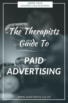 If you're a counsellor or therapist growing your private practice, you might consider paying to advertise.. Does it work, and what's the best way to go about it? Take a look