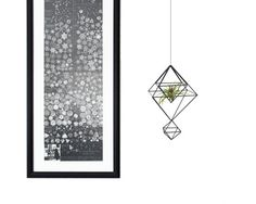 PAX Modern Geometric Hanging Mobile Himmeli by HRUSKAA on Etsy