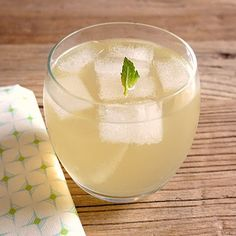 Ginger Lemonade with Fresh Mint, posted on Bread and Milk and Blackberries, courtesy of Epicurious