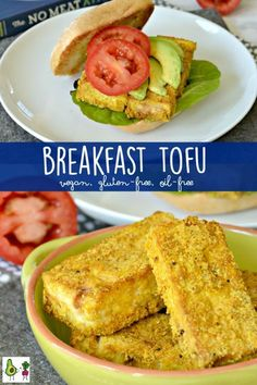 Breakfast Tofu is one of many easy healthy whole food plant-based recipes from The No Meat Athlete Cookbook. It's gluten-free oil-free and vegan. - April 27 2019 at Oxtail Recipes, Tofu Recipes, Easy Healthy Recipes, Gourmet Recipes, Appetizer Recipes, Whole Food Recipes, Vegetarian Recipes, Vegan Vegetarian, Vegetarian Dinners