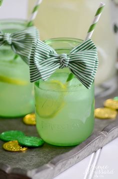 St. Patrick's Day Fizzy Lemonade Recipe from Taste of Home