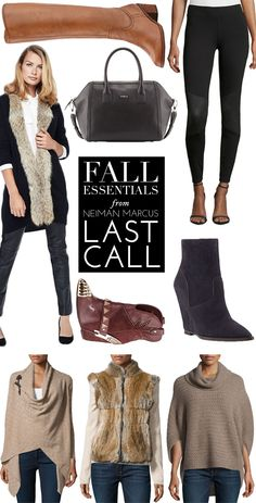 Our Fall Essentials From Neiman Marcus Last Call | theglitterguide.com