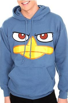 Perry the platypus hoodie - small
