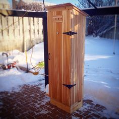 Just finished my cedar cold smoker