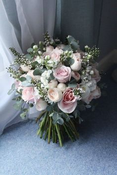 Terrific Absolutely Free Bridal Bouquet summer Strategies Because essentially th. - Terrific Absolutely Free Bridal Bouquet summer Strategies Because essentially the most critical and - Bridal Bouquet Pink, Bride Bouquets, Bridal Flowers, Flower Bouquet Wedding, Floral Wedding, Wedding Colors, Boquette Flowers, Diy Bouquet, Rose Bouquet