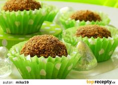 Lotus kuličky recept - TopRecepty.cz Honeydew, Ricotta, Nutella, Rum, Lotus, Muffin, Food And Drink, Breakfast, Morning Coffee