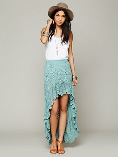Nightcap Spanish Saloon Skirt at Free People Clothing Boutique