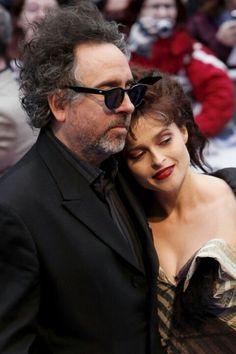 Tim Burton & Helen Bonham Carter ;)