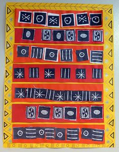 Graphismes et motifs des tissus africains GS maternelle
